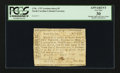 Colonial Notes:North Carolina, North Carolina 1756 - 1757 (written dates) £5 PCGS Apparent VeryFine 30.. ...