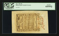 Colonial Notes:Rhode Island, Rhode Island May 1786 30s PCGS Gem New 65PPQ.. ...