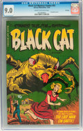Golden Age (1938-1955):Horror, Black Cat Mystery #53 File Copy (Harvey, 1954) CGC VF/NM 9.0 Creamto off-white pages....