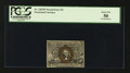 Fractional Currency:Second Issue, Fr. 1283SP 25¢ Second Issue Narrow Margin Face PCGS About New 50.. ...