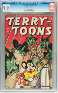 Golden Age (1938-1955):Cartoon Character, Terry-Toons Comics #42 (Timely, 1946) CGC VF/NM 9.0 Off-white towhite pages....