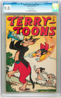 Golden Age (1938-1955):Funny Animal, Terry-Toons Comics #45 (Timely, 1946) CGC VF/NM 9.0 Off-whitepages....