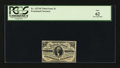 Fractional Currency:Third Issue, Fr. 1227SP 3¢ Third Issue Narrow Margin Face PCGS New 62.. ...