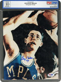 Basketball Collectibles:Photos, George Mikan Signed Photograph, PSA/DNA Gem Mint 10....