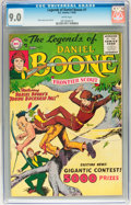 Silver Age (1956-1969):Western, Legends of Daniel Boone #7 (DC, 1956) CGC VF/NM 9.0 White pages....