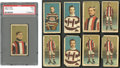 "Hockey Cards:Lots, 1910 C56 ""Hockey Series"" Collection (9) With Two Art Ross Cards!..."