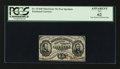 Fractional Currency:Third Issue, Fr. 1274SP 15¢ Third Issue Narrow Margin Face PCGS Apparent New 62.. ...
