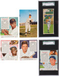 Autographs:Checks, 1939-1966 Baseball Card Collection (16) With Dormand Mantle PC ...