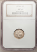 Barber Dimes: , 1913-S 10C AU58 NGC. NGC Census: (6/78). PCGS Population (14/105).Mintage: 510,000. Numismedia Wsl. Price for problem free...