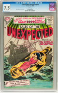 Silver Age (1956-1969):Horror, Tales of the Unexpected #6 (DC, 1956) CGC VF- 7.5 White pages....