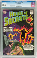 Silver Age (1956-1969):Horror, House of Secrets #20 (DC, 1959) CGC VF+ 8.5 Off-white to whitepages....