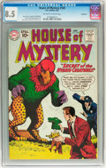 Silver Age (1956-1969):Mystery, House of Mystery #109 Northland pedigree (DC, 1961) CGC VF+ 8.5Off-white to white pages....