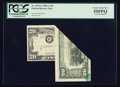 Error Notes:Foldovers, Fr. 2074-G $20 1981A Federal Reserve Note. PCGS Choice About New55PPQ.. ...