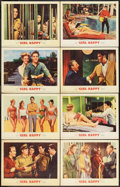 "Movie Posters:Elvis Presley, Girl Happy (MGM, 1965). Lobby Card Set of 8 (11"" X 14""). ElvisPresley.. ... (Total: 8 Items)"