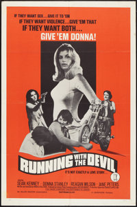 """Running With the Devil (Unisphere, 1973). One Sheet (27"""" X 41""""). Action"""