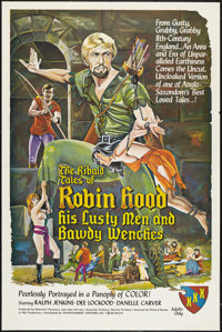 """The Ribald Tales of Robin Hood (Entertainment Ventures, Inc., 1969). One Sheet (27"""" X 41""""). Adult"""