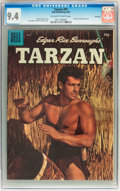 Golden Age (1938-1955):Adventure, Tarzan #81 File Copy (Dell, 1956) CGC NM 9.4 Off-white to white pages....