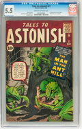Silver Age (1956-1969):Superhero, Tales to Astonish #27 (Marvel, 1962) CGC FN- 5.5 Cream to off-white pages....
