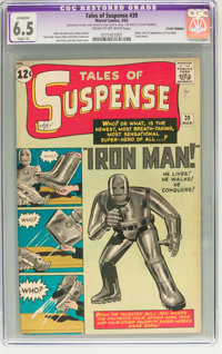 Tales of Suspense #39 (Marvel, 1963) CGC Apparent FN+ 6.5 Slight (A) Cream to off-white pages