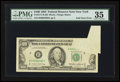 Error Notes:Foldovers, Fr. 2171-B $100 1985 Federal Reserve Note. PMG Choice Very Fine35.. ...