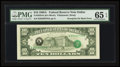 Error Notes:Third Printing on Reverse, Fr. 2028-K $10 1988A Federal Reserve Note. PMG Gem Uncirculated 65 EPQ.. ...