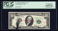 Error Notes:Ink Smears, Fr. 2020-B $10 1969B Federal Reserve Note. PCGS Very Choice New64PPQ.. ...