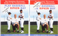 Baseball Collectibles:Publications, Billy and Cal Ripken Jr. Multi Signed Hardcover Books Lot of 2....