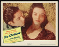 """Movie Posters:Western, The Outlaw (United Artists, 1946). Lobby Card (11"""" X 14""""). Western.. ..."""