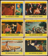 """To Catch a Thief (Paramount, 1955). Lobby Cards (6) (11"""" X 14""""). Hitchcock. ... (Total: 6 Items)"""