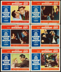 """Movie Posters:Hitchcock, The Man Who Knew Too Much (Paramount, 1956). Lobby Cards (6) (11"""" X 14""""). Hitchcock.. ... (Total: 6 Items)"""