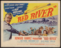 """Movie Posters:Western, Red River (United Artists, 1948). Title Lobby Card (11"""" X 14""""). Western.. ..."""
