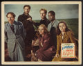 """Movie Posters:Hitchcock, Lifeboat (20th Century Fox, 1944). Lobby Card (11"""" X 14"""").Hitchcock.. ..."""