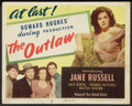 """Movie Posters:Western, The Outlaw (United Artists, 1946). Title Lobby Card (11"""" X 14""""). Western.. ..."""