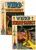 Golden Age (1938-1955):Science Fiction, Weird Science-Fantasy #24 and 28 Group (EC, 1954).... (Total: 2Comic Books)