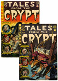 Golden Age (1938-1955):Horror, Tales From the Crypt #44 and 45 Group (EC, 1954-55).... (Total: 2Comic Books)