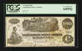 Confederate Notes:1862 Issues, T39 $100 1862 PF-4.. ...