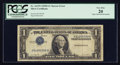Error Notes:Inverted Third Printings, Fr. 1613N $1 1935D Narrow Silver Certificate. PCGS Very Fine 20.....