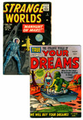 Golden Age (1938-1955):Horror, Strange World of Your Dreams #1/Strange Worlds #4 Group(Prize/Marvel, 1952-59).... (Total: 2 Comic Books)