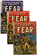 Golden Age (1938-1955):Horror, Haunt of Fear #10, 20, and 21 Group (EC, 1951-53).... (Total: 3Comic Books)