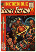 Golden Age (1938-1955):Horror, Incredible Science Fiction #30 (EC, 1955) Condition: FN....