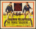 """Movie Posters:Western, The Horse Soldiers (United Artists, 1959). Half Sheet (22"""" X 28"""") Style A. Western.. ..."""