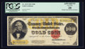 Large Size:Gold Certificates, Fr. 1215 $100 1922 Gold Certificate PCGS Apparent Very Fine 20.. ...