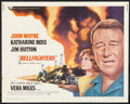"""Movie Posters:Action, Hellfighters (Universal, 1969). Half Sheet (22"""" X 28""""). Action.. ..."""