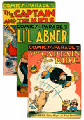 Golden Age (1938-1955):Miscellaneous, Comics On Parade #31-40 Group (United Features Syndicate, 1941-46).... (Total: 12 Comic Books)