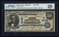 National Bank Notes:Missouri, Kansas City, MO - $50 1902 Date Back Fr. 668 The First NB Ch. # (M)3456. ...