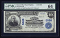 National Bank Notes:West Virginia, Sistersville, WV - $10 1902 Plain Back Fr. 632 The Union NB Ch. #5028. ...
