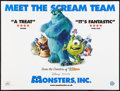 "Movie Posters:Animated, Monsters, Inc. (Buena Vista, 2001). British Quad (30"" X 40"") DS.Animated.. ..."