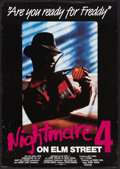 "Movie Posters:Horror, A Nightmare on Elm Street 4: The Dream Master (New Line, 1988). German A1 (23"" X 33""). Horror.. ... (Total: 2 Items)"