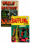Golden Age (1938-1955):Horror, Baffling Mysteries #26/World Of Mystery #2 Group (Ace/Atlas,1955-56).... (Total: 2 Comic Books)