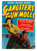 Golden Age (1938-1955):Crime, Gangsters and Gun Molls #1 (Avon, 1951) Condition: VG+....